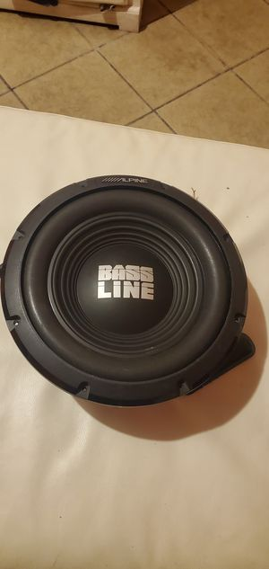 12 in subwoofer alpine for Sale in Los Angeles, CA