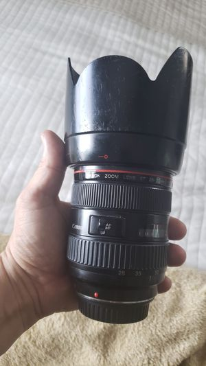 Canon 28-70mm F2.8 L Series for Sale in Hollywood, FL