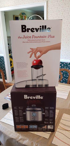 Breville kitchen appliances for Sale in Glendora, CA