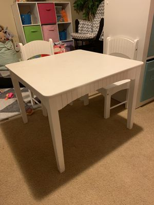 Kids table and 2 chairs for Sale in Seattle, WA
