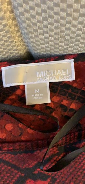 Michael by Michael Kors Red Silky blouse for Sale in Portland, OR