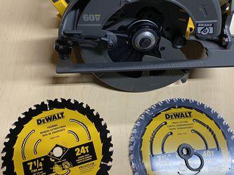 Dewalt Flexvolt Circular Saw And Blades for Sale in Vista,  CA