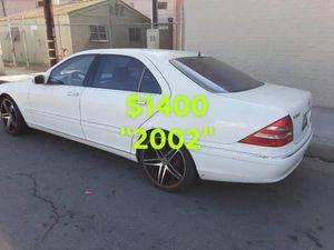 VENDO MERCEDES BENZ S500...A/C...TAGS OK.....$1400... for Sale in Montebello, CA