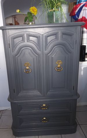 Solid Wood Just Restored Antique Dresser. Cleaned and disinfected for you convenience and safety for Sale in Miami, FL