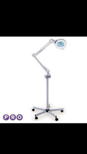 Rolling / Salon / Spa / Tattooing / Magnifying Lamp Light 5x Mag with Base..... CHECK OUT MY PAGE FOR MORE ITEMS for Sale in Baltimore, MD