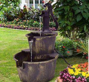 Water Garden Fountain Yard Outdoor Waterfall for Sale in Sarasota, FL