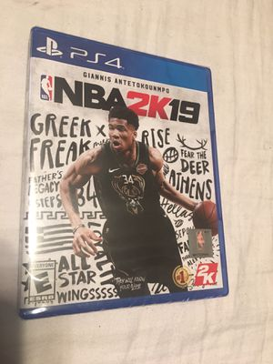 Unopened 2k19 ps4 for Sale in Baltimore, MD