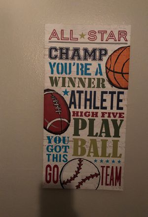 Boys room decor for Sale in Fort Worth, TX