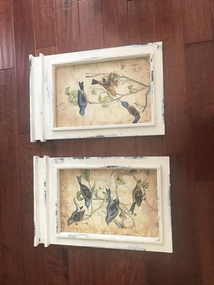 Pair of bird pics for Sale in Fort Lauderdale, FL