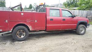 2003 chevy silverado utility truck 6.6l turbo diesel for Sale in Beltsville, MD