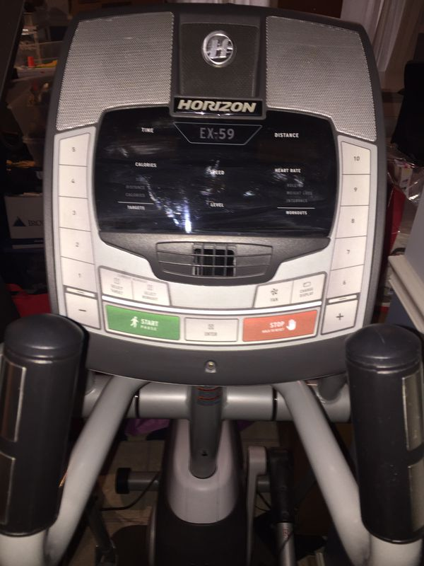Horizon Fitness Elliptical EX59