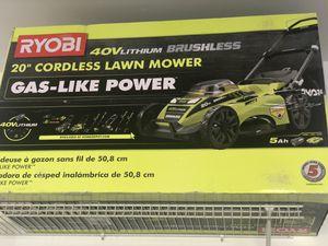Cordless lawn mower used twice for Sale in Lorton, VA