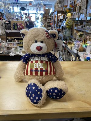 Brand New Homefront Girl Teddy Bear With Box for Sale in Henderson, NV