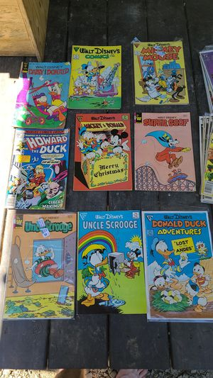 WALT DISNEY COMIC LOT 9( ORIGINAL COMICS) for Sale in Eagle Creek, OR