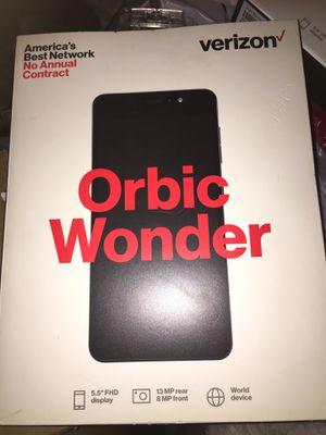 Verizon Prepaid- Orbic Wonder for Sale in Burtonsville, MD