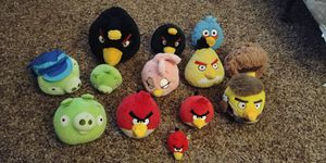 Angry bird stuffed animal lot for Sale in Milwaukie, OR