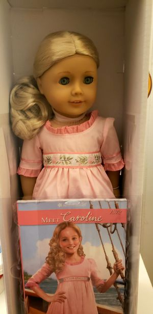 American Girl Doll Caroline /new in box /retired/hard to find for Sale in Reading, PA
