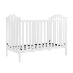 Baby Relax Adelyn 2-in-1 Convertible Crib, White for Sale in Garden Grove,  CA