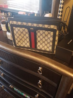Authentic Gucci navy vintage bag for Sale in Pineville, NC