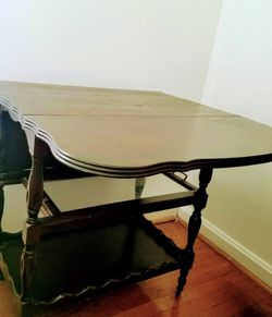 Beautiful Solid Cherry Wood Vintage Table for Sale in Silver Spring,  MD