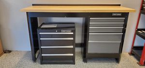 Craftsman workbench and chests for Sale in Claremont, CA
