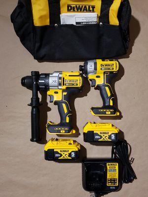 Dewalt 20v XR Brushless Hammer Drill Impact Driver Kit for Sale in Greenville, SC