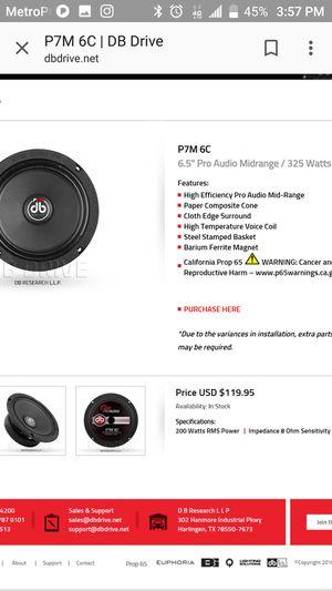 Db drive pro audio for Sale in Chicago, IL