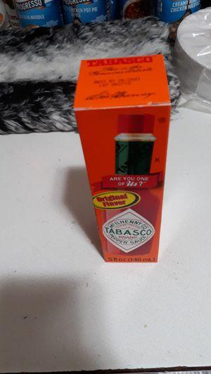 5oz (148ml) Tabasco sauce new in box 5$ OBO for Sale in Helena, MT