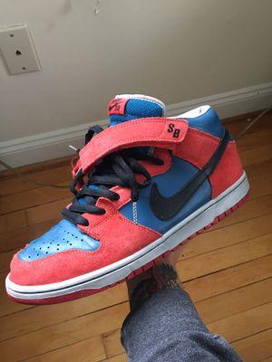 Nike Sb Dunk Spiderman MID 10.5 for Sale in Arlington, VA