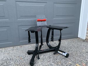 Bowflex Adjustable Dumbbells 552 Media Rack/Stand for Sale in Happy Valley, OR