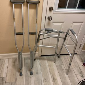 Crutches And Walker for Sale in Deer Park, TX