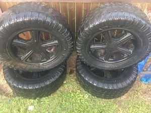 """Black rims """"20"""" for Sale in Davenport, FL"""