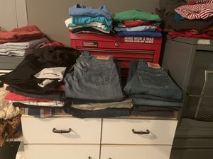 Boys jeans 27, 28, 29 Levi's, Abercrombie etc for Sale in Wake Forest, NC