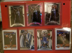 2019-20 Prizm, Prizm Draft picks & Hoops Zion Williamson rookie card lot. 16 cards in total Including a Pink ice Prizm rookie for Sale in Nederland, TX