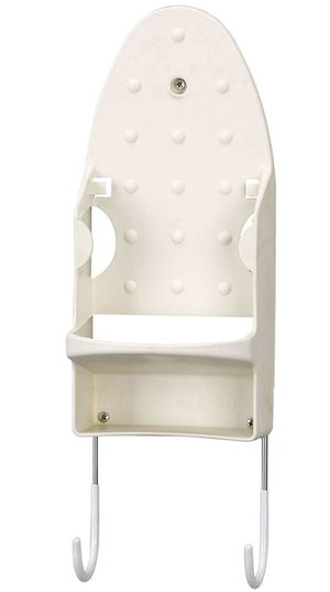 Household Essentials Iron Wall Mount with Attached Ironing Board Hooks for Sale in Monroe Township, NJ
