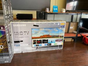 "75"" Samsung Smart 4K UHD Led HDR tv 2160p for Sale in March Air Reserve Base, CA"