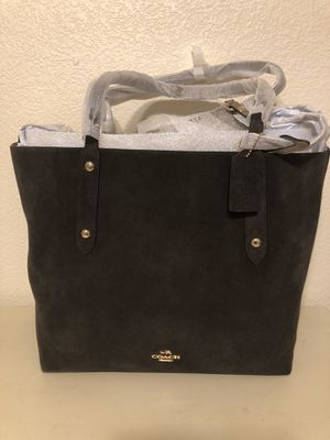 Coach Large Suede Tote, NWT for Sale in San Diego, CA