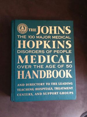 John hopkins medical hand book (100 major medical disorders of people over the age of 50) for Sale in Kingsport, TN