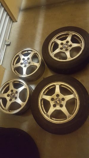 Saab rims and tires for Sale in Woodinville, WA