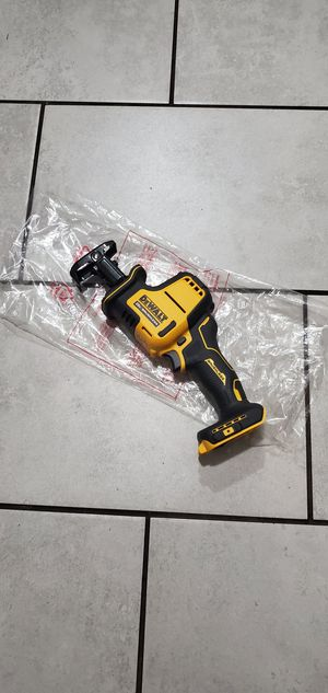 DEWALT 20 VT MAX BRUSHLESS XR HACK SAW NEW TOOL ONLY for Sale in Long Beach, CA