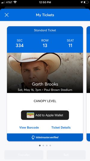 Garth Brooks Tickets!!!! for Sale in OH, US