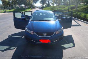 2014 Honda Civic EX for Sale in Escondido, CA