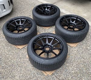 18inch wide wheels aggressive look for Sale in Gresham, OR