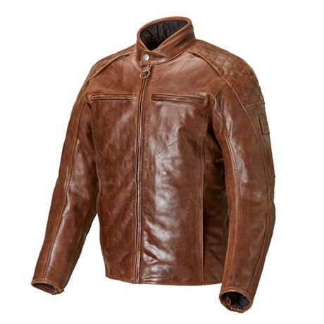 Triumph/Barbour Leather Motorcycle Jacket-Armored-Brand New