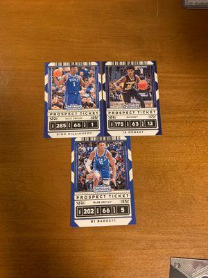 3 card lot, Zion, ja mordant, Rj Barrett for Sale in Chicago, IL