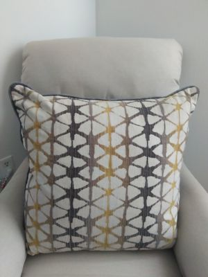 3 Multi-Colored Pillows for Sale in Fort Lauderdale, FL