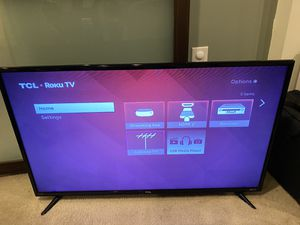 """40"""" TCL flat screen smart function does not work for Sale in Alexandria, VA"""