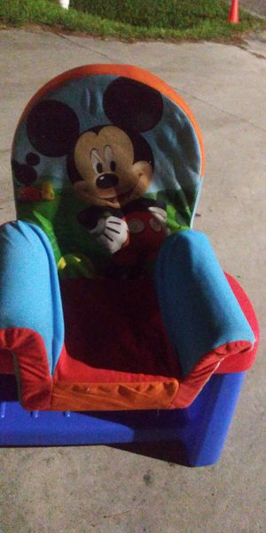 Mickeys kids comfortable chair 5dol lots deals my post go look for Sale in Jupiter, FL