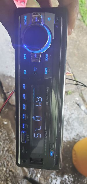 STEREO BLUETOOTH USB 1 USB 2 SD CARD for Sale in San Leandro, CA