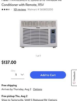 New Window AC unit 5,000 BTU for Sale in Salt Lake City, UT